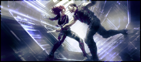 Black Widow And Hawkeye Kiss