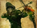 Paint a DC Character: The Arrow