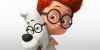 Mr. Peabody and Sherman stamp no.1 by Csodaaut