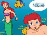 TLM - Young Ariel and Flounder in SE style