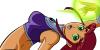 Teen Titans stamp - Starfire no.1 by Csodaaut