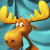 Rocky and Bullwinkle icon - Bullwinkle no.2 by Csodaaut
