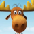 Rocky and Bullwinkle icon - Bullwinkle no.3 by Csodaaut
