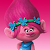Dreamworks' Trolls icon - Princess Poppy no.1 by Csodaaut