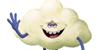 Dreamworks' Trolls stamp - Cloud Guy by Csodaaut