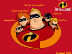 The Incredibles - Main characters in SE style no.1 by Csodaaut