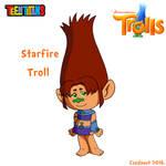 Starfire as Troll in SE style