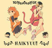 Haikyuu!! by Piyoyan