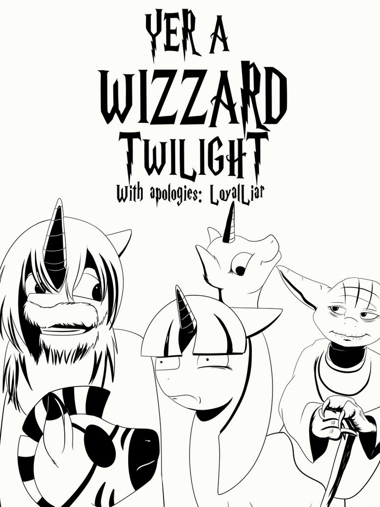 YER A WIZZARD, TWILIGHT! by Ruirik