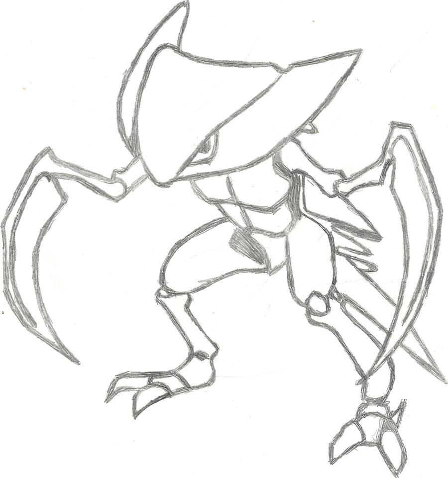 Kabutops Sketch by CoolMan666