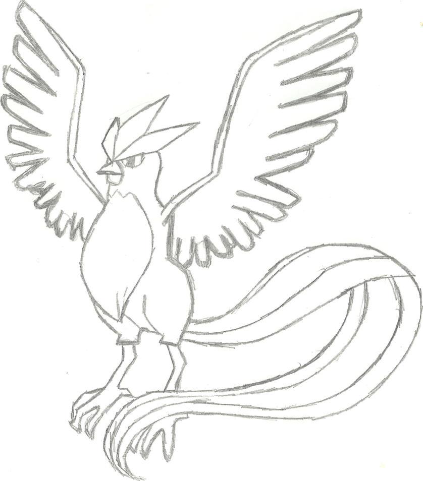 Articuno Sketch by CoolMan666