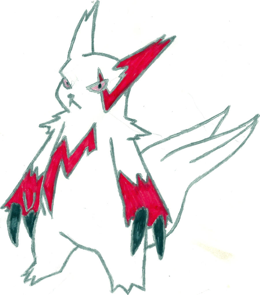 Zangoose Coloured by CoolMan666