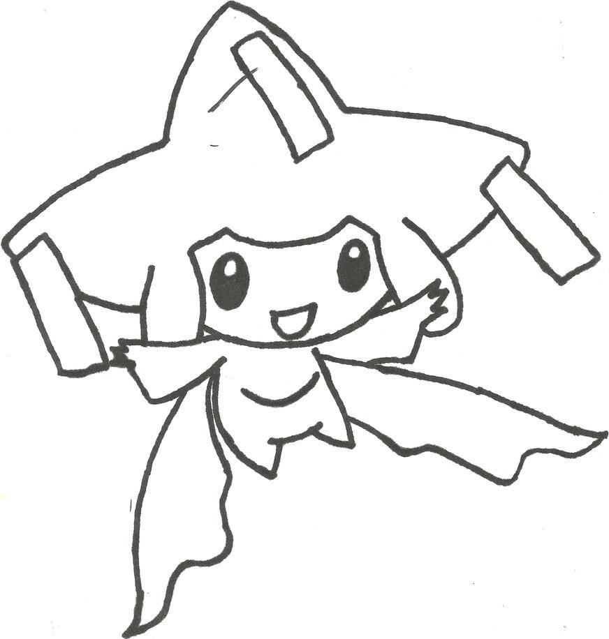 Jirachi Sketch by CoolMan666 on