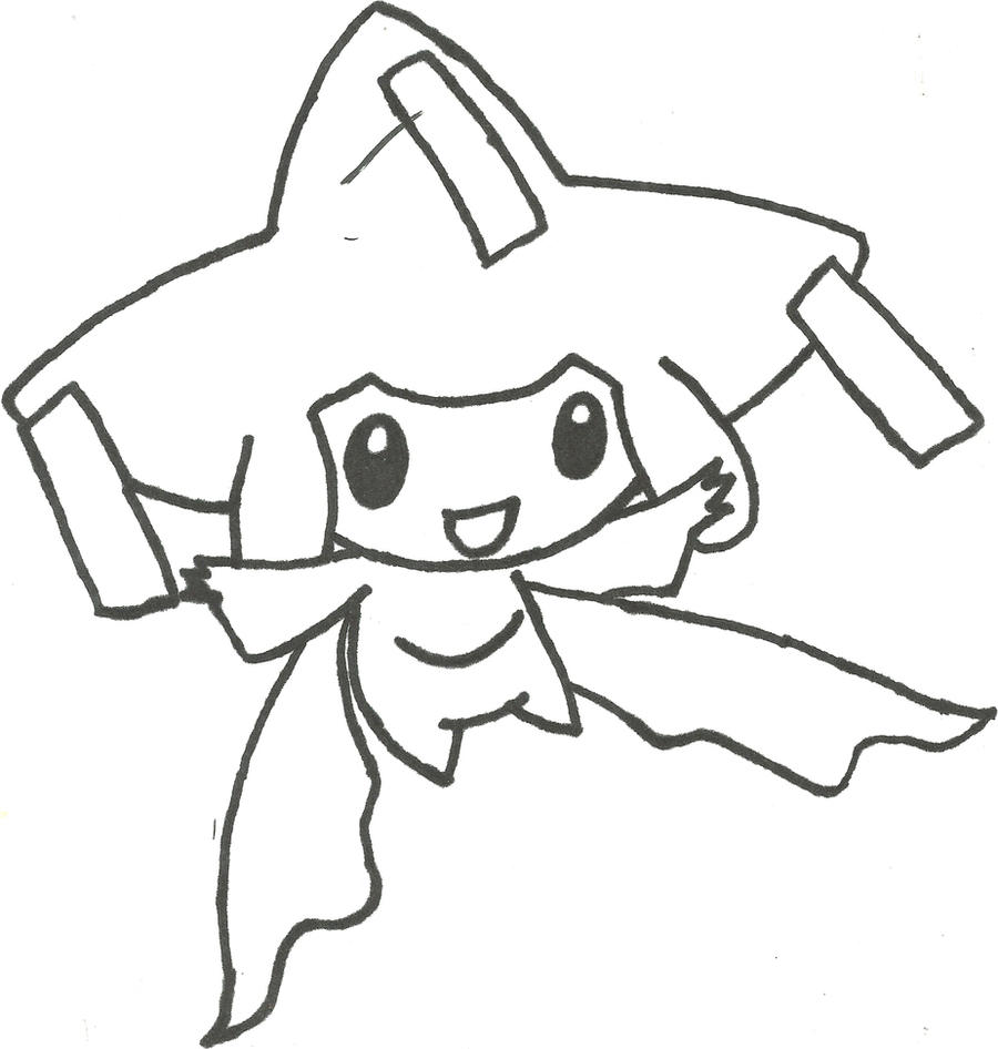 Jirachi Sketch by CoolMan666