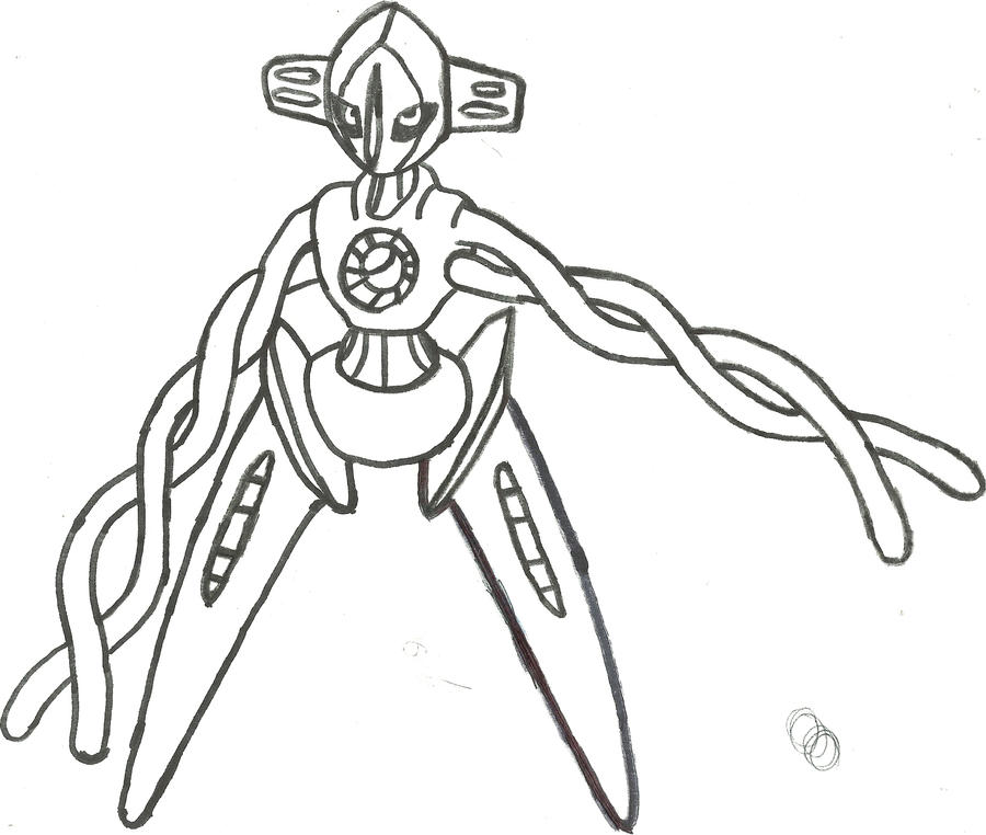 Deoxys Normal Form Sketch