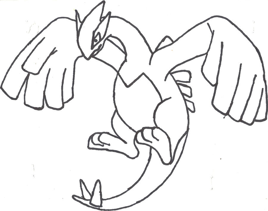 LUGIA REDONE! THE WORLD IS DOOMED by CoolMan666 on DeviantArt