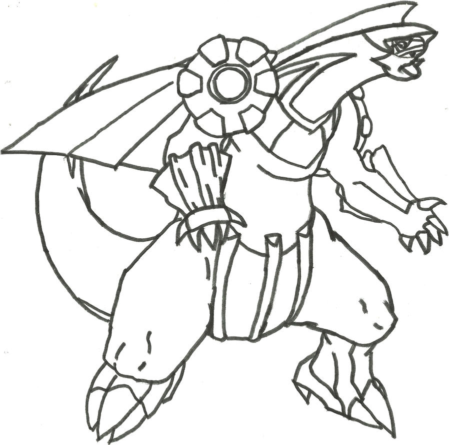 palkia coloring pages - photo#14