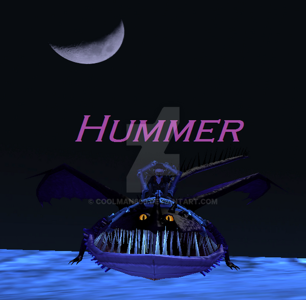 Hummer Moon by CoolMan666