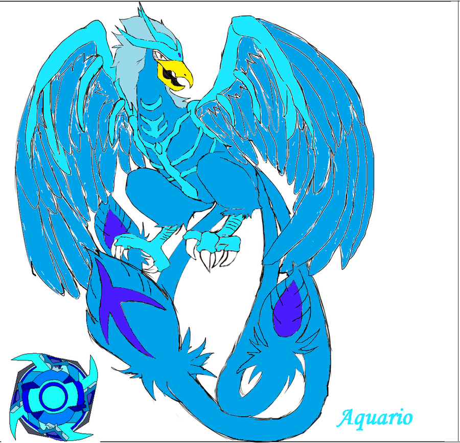 bit beast aquario and beyblade aquario ms by emilyvalkov on deviantart