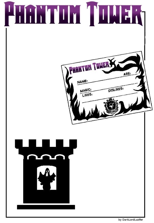 Phantom Tower Guild Card ID Blank by EmilyValkov