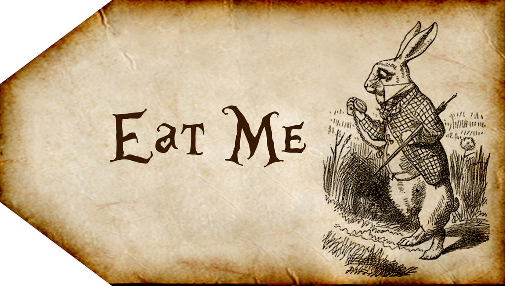 alice in wonderland tags template - eat me quotes about quotesgram