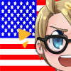 Free Hipstertalia America Icon~~ by PastaIsALie