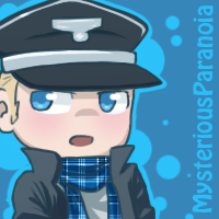 AT with MysteriousParanoia: chibi!hipster!Germany by PastaIsALie