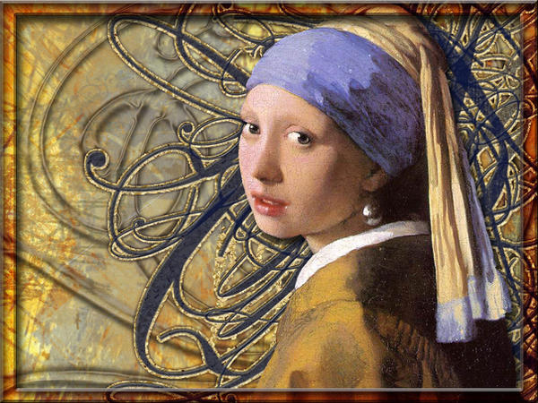 Vermeer Wallpaper by EsotericMuse on