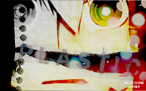 Plastic sign by BlackNinfaQueen