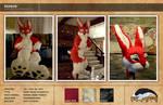 Redbun Fursuit Complete