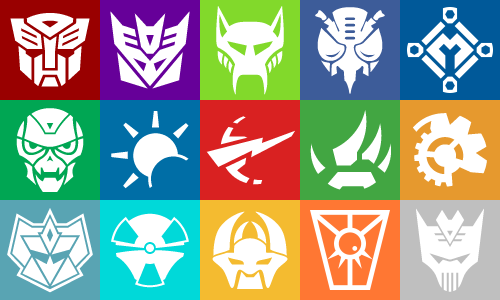 Transformers Insignia Collage by MillenniumShadow