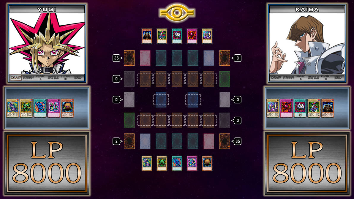 My Yu-Gi-Oh! Dueling Video Layout by MillenniumShadow on