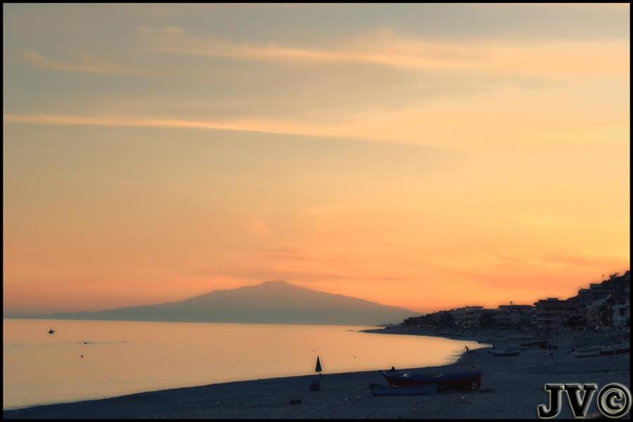 Orange Sunset by JohnnyVadala