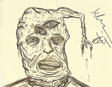 Sticky Note Sketch by KincaidJaggo