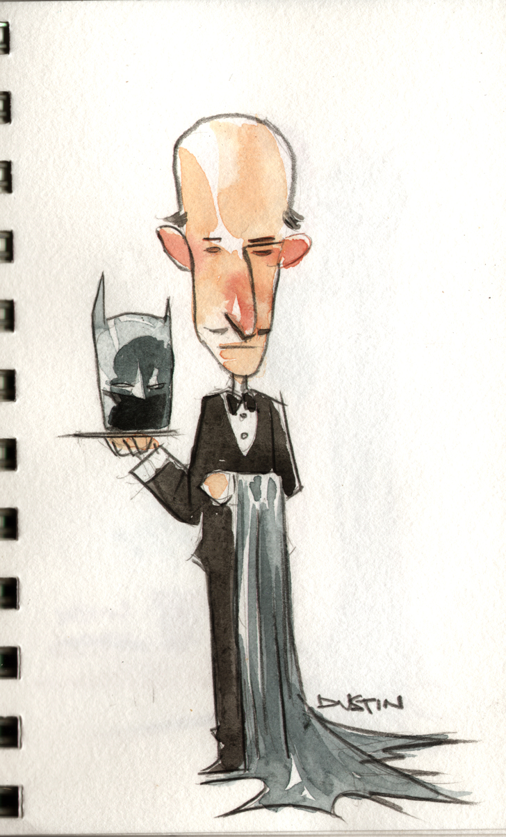 battle for the cowl ALFRED by duss005