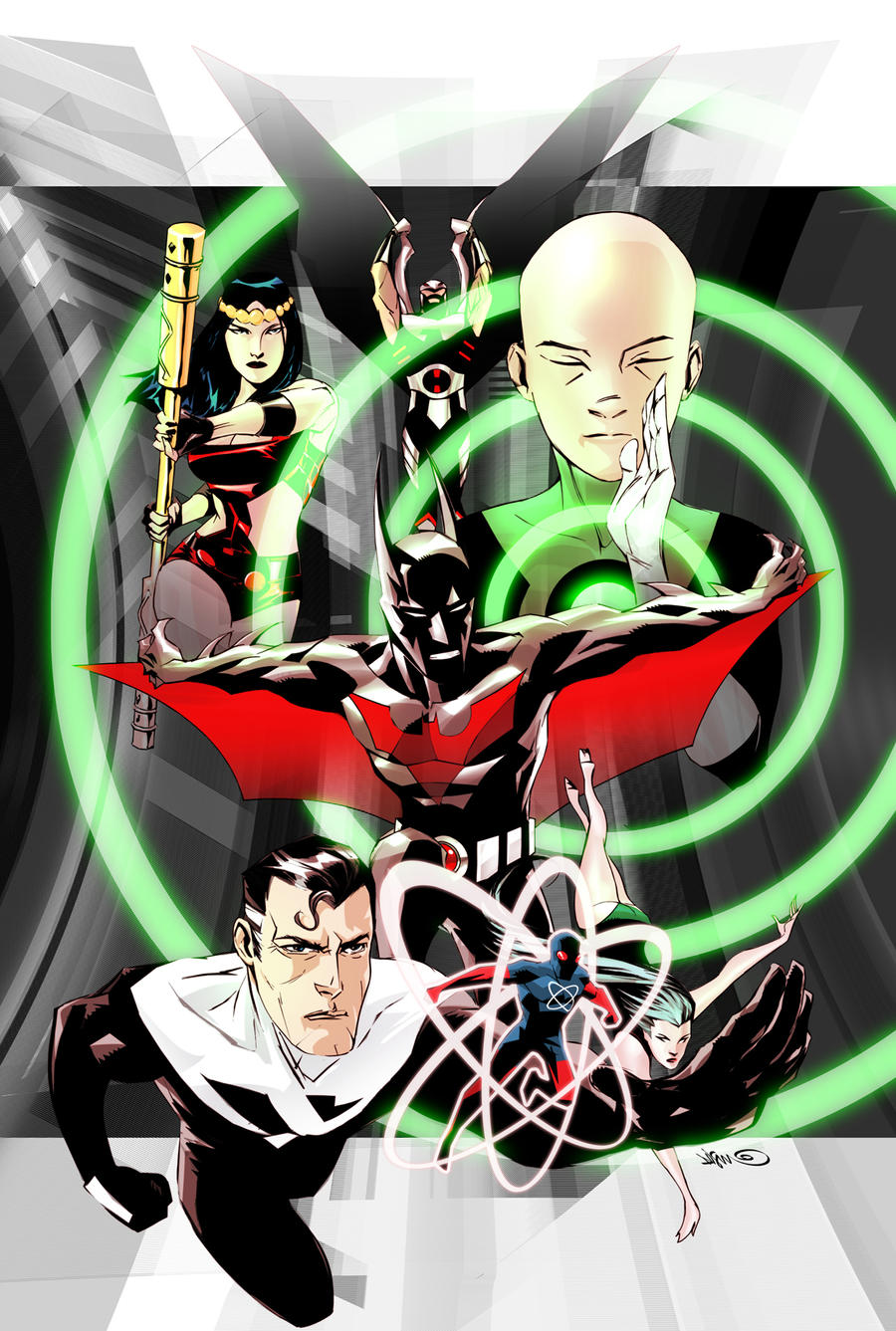 Justice League Beyond 1 by duss005