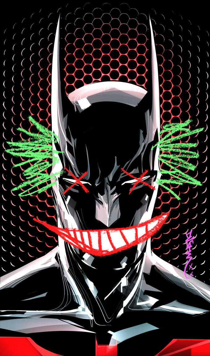 Batman Beyond #13 cover by duss005