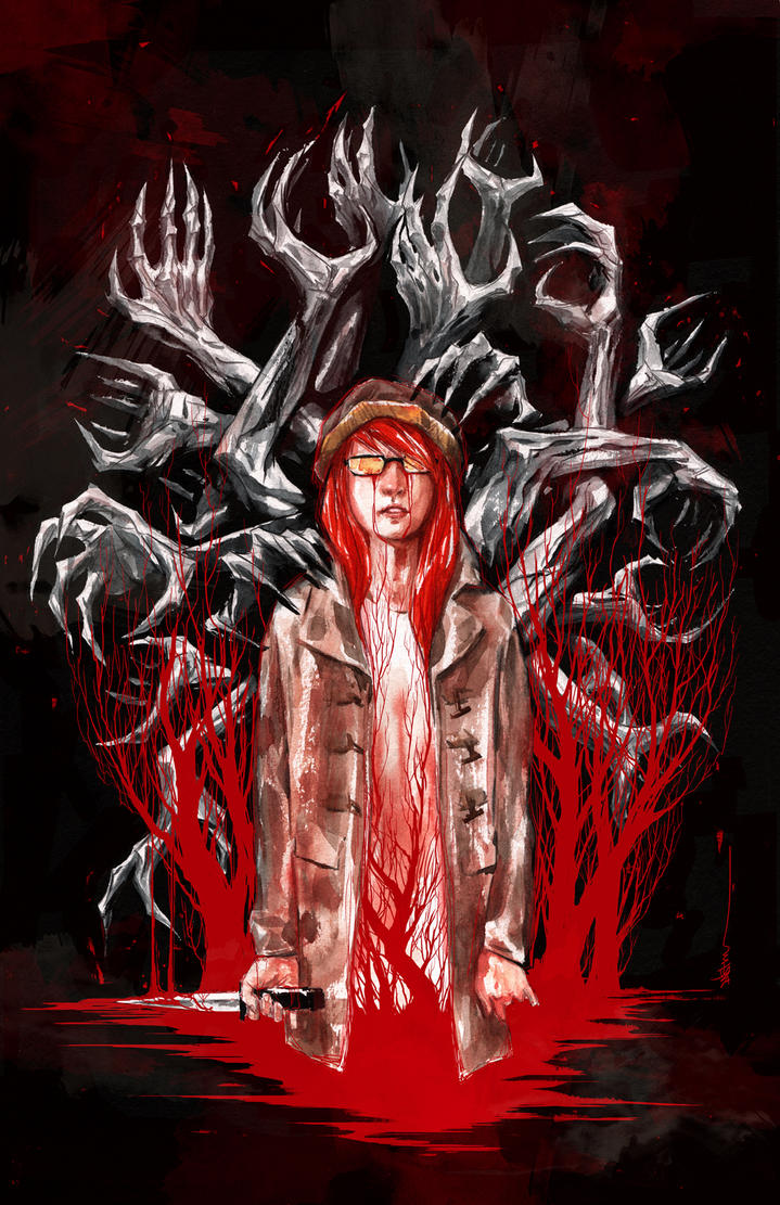 Wytches NYCC 2014 variant cover by duss005