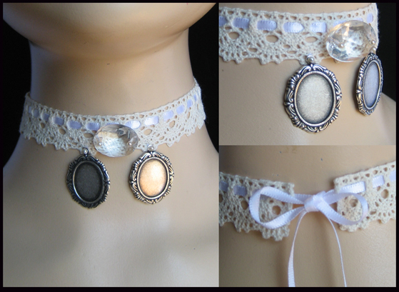 choker with miniature frames by trich on DeviantArt