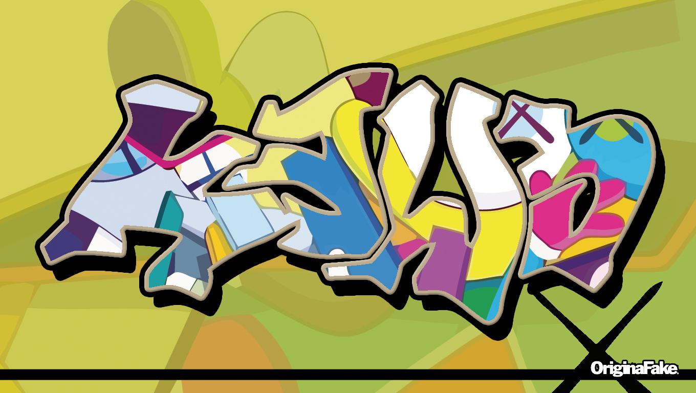 KAWS graffiti wall by bradjolly