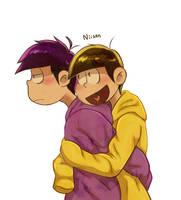 U hugging me by OhiFinsternis