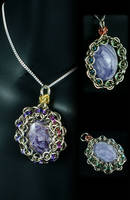 Charoite Wrap by WaistedSpace