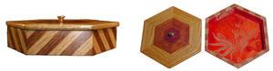 Hardwood Jewelry Box