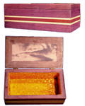Purpleheart Jewelry Box