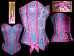 Silk and Lace Corset