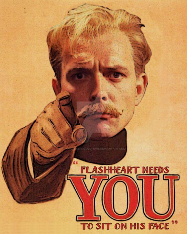 Flashheart by panicfaceproductions