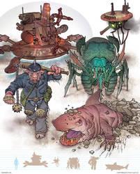 Gamma World Monsters 1