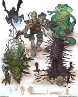 Gamma World Monsters 5 by MikeFaille