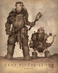 Gray Plague Spore