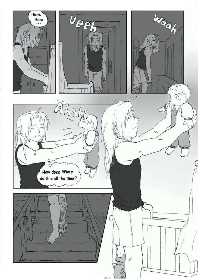 Joy Of Faterhood Page 3 By Pentragon1990 On DeviantART
